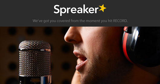 Visit Spreaker and Create a Podcast