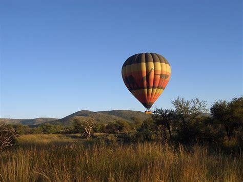 Hot air balloon in the Pilanesberg