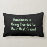 Marriage Quote Pillow