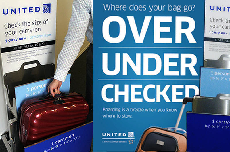 United Airline Personal Bag Size