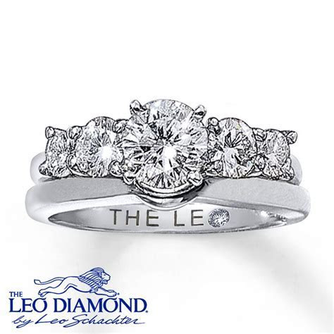 images solitaire ring enhancers   Kay   Leo Diamond