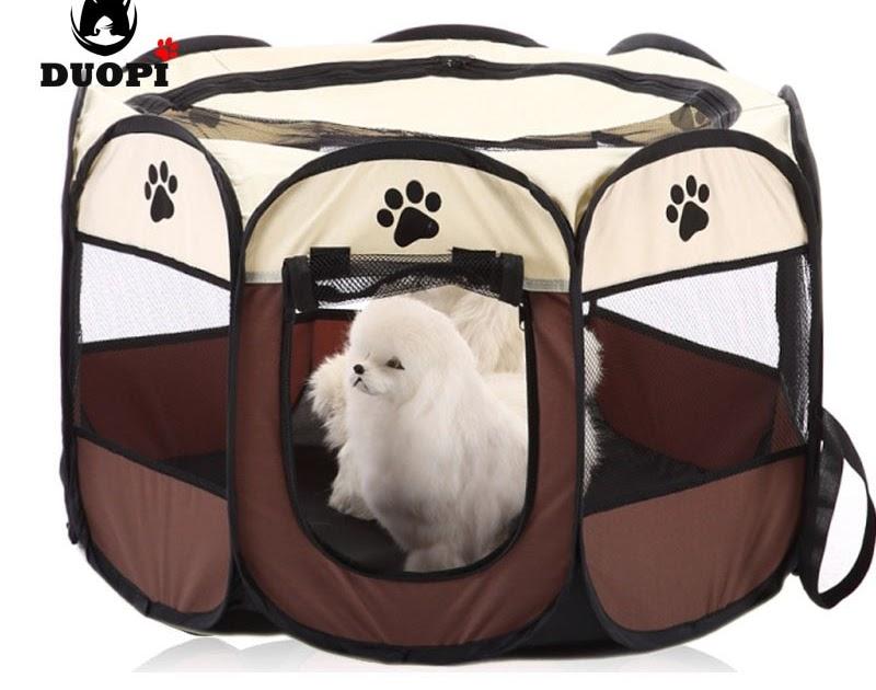 Buy HOT Portable Folding Pet tent Dog House Cage Dog Cat
