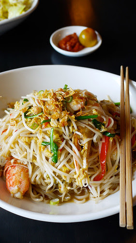 singapura crab bee hoon