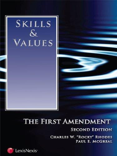 Skills Values The First Amendment