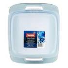 "Pyrex 1119566 Easy Grab 8"" Square Baking Dish w/ Lid, Atlantic Blue"