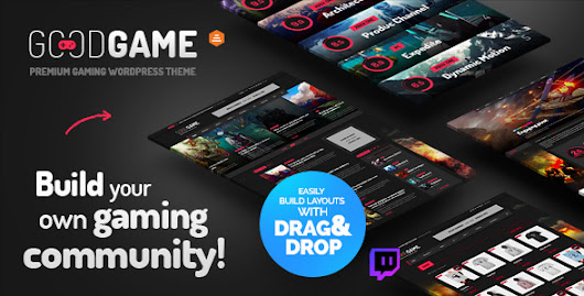 Download GoodGame - Twitch Integrated WordPress Gaming News Magazine nulled | OXO-NULLED