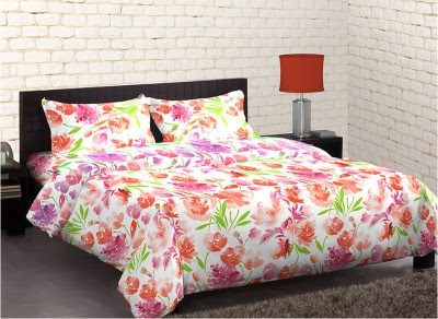 Home Expression USA Polycotton Floral Double Bedsheet for just Rs. 799 @  | Best Promo code, Coupons and Discount Deals of the Day - April 2015