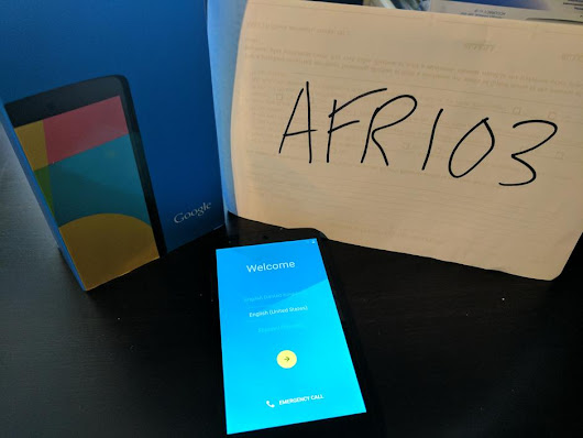 Nexus 5 (Unlocked) For Sale - $160 on Swappa (AFR103)