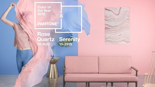 Pantone Color of the Year 2016 Is Blend of Serenity and Rose Quartz - ABC News