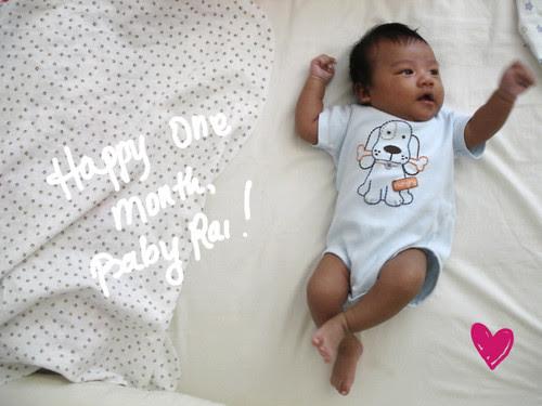 Happy One Month_Rai