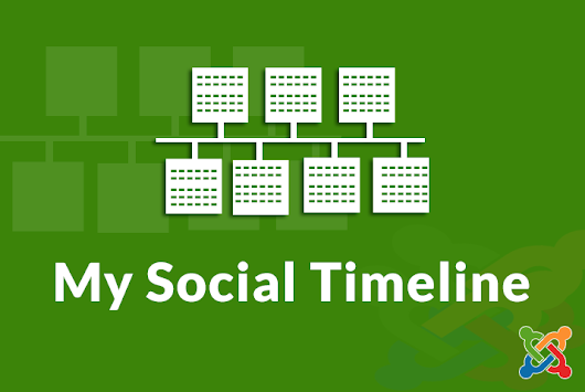 My Social Timeline | Joomla Modules & Component