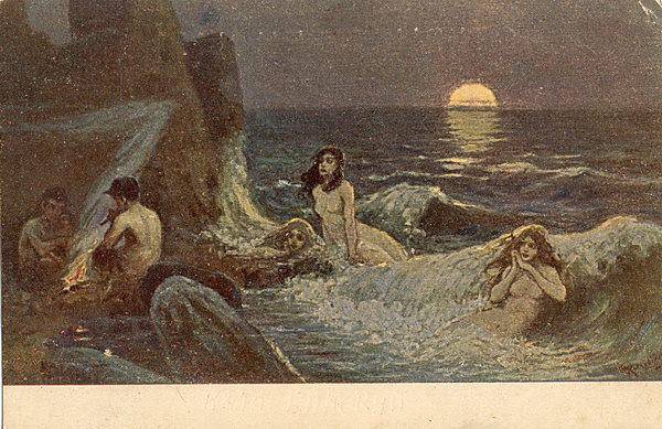 Волна. Котарбинский Вильгельм Александрович (1849-1922)