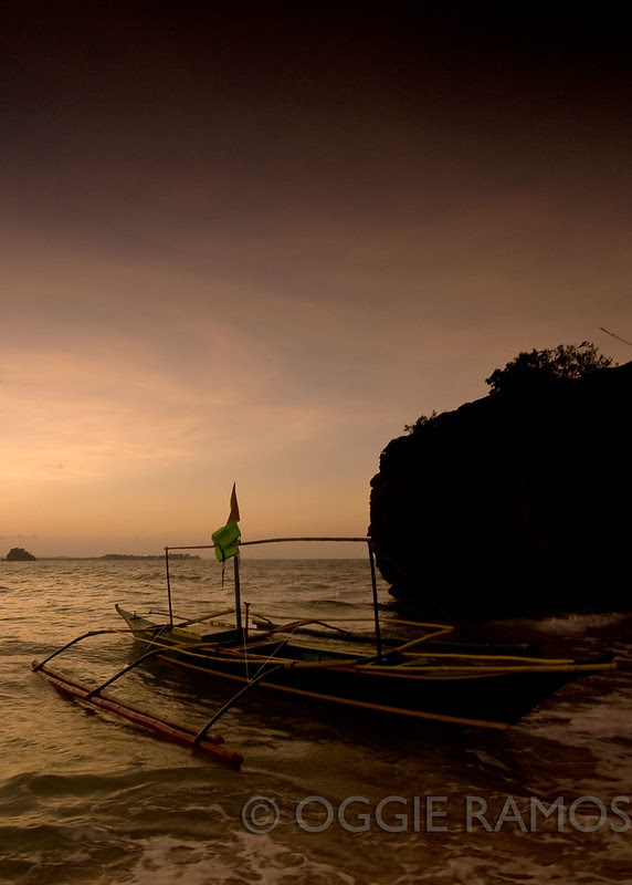 Quezon Borawan Island Sunrise Boat