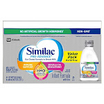Similac Pro-Advance HMO Ready To Feed Infant Formula 8-count / 32 fl oz