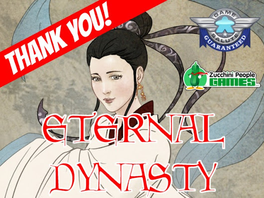 Eternal Dynasty: The Board Game of Generational Conquest