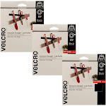 Velcro Brand 10 Foot Industrial Strength 1 Inch Fastener Roll Tape (3 Pack) by VM Express