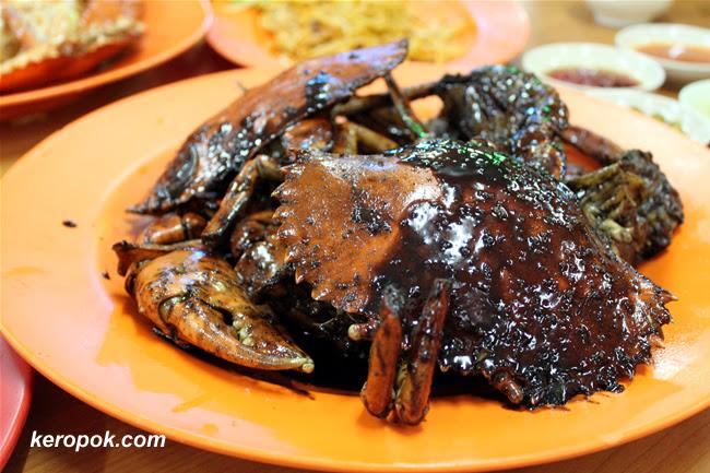 The Black Pepper Crabs