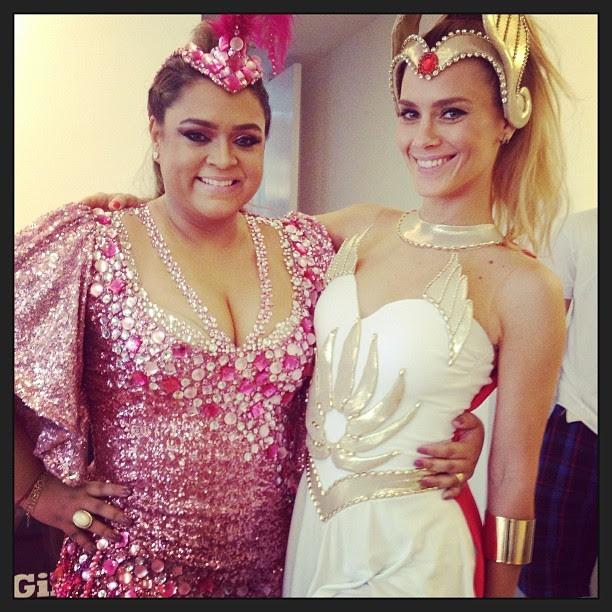 Preta Gil e Carolina Dieckmann (Foto: Instagram/ Reprodução)