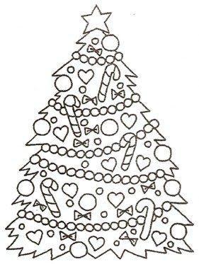 Disegni Immagini Alberi Di Natale Da Stampare E Colorare