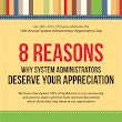 8 Reasons Why System Administrators Deserve your Appreciation