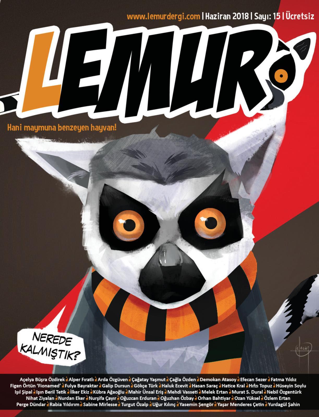 Calaméo Lemur Haziran18