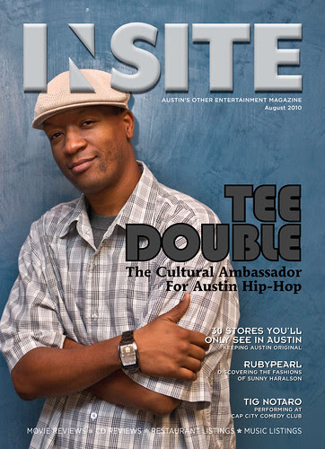 august 2010 - cover: tee double