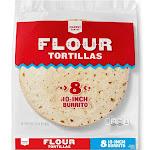 "10"" Flour Tortillas - 8ct - Market Pantry"