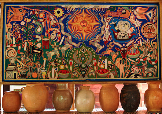HUICHOLS OF MEXICO PART TWO: SHAMANISM AND ART