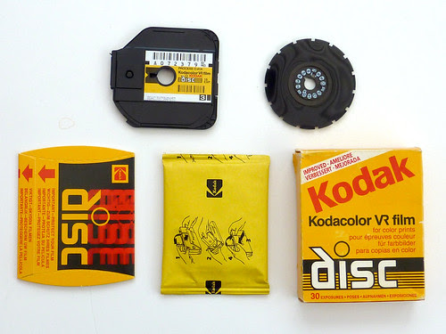 Kodacolor VR disc film and packaging by pho-Tony