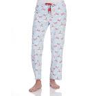 St. Eve Women's Microfleece Sleep Pants - Blue