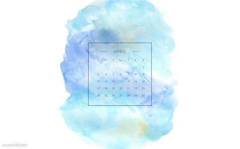 blue purple  yellow watercolor background april