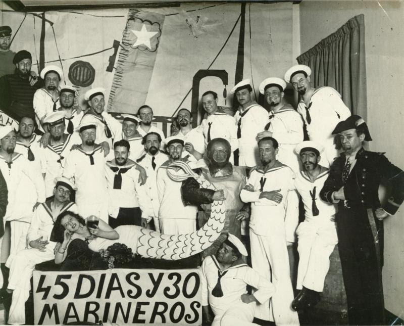 45 días y 30 marineros
