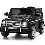 Gymax Mercedes Benz G65 Licensed 12V Electric Kids Ride On Car RC Remote Control Black