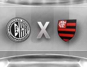 Confronto escudos - ASA x Flamengo (Foto: Editoria de arte / Globoesporte.com)