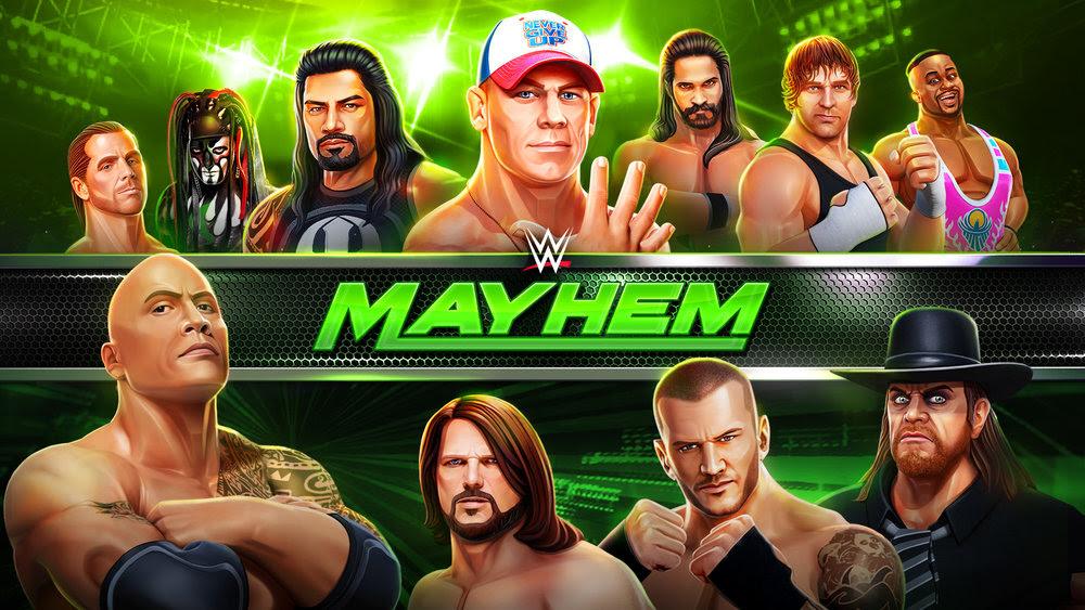 نتيجة بحث الصور عن download wwe mayhem