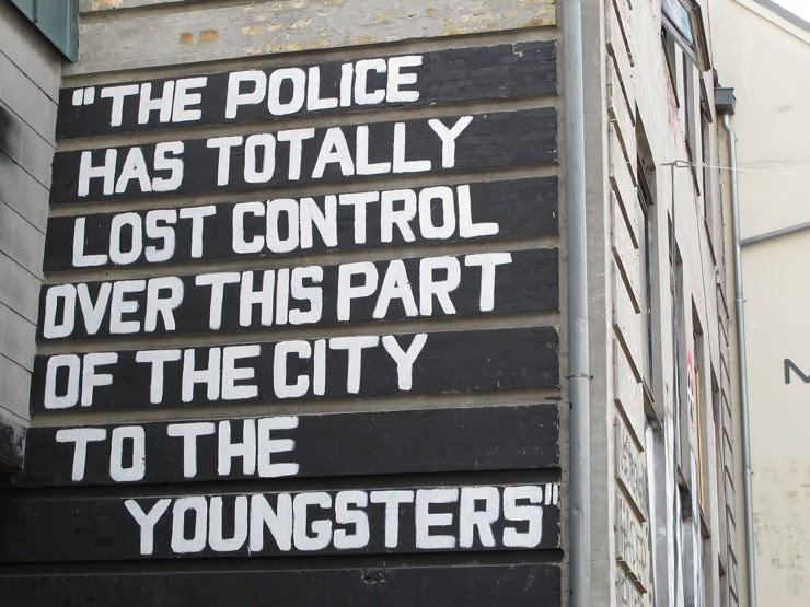 The police has totally lost control...