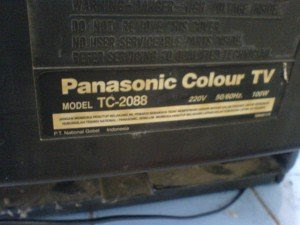 model tv panasonic