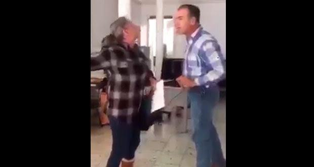 Juez agrede a hermana en MP de Chihuahua