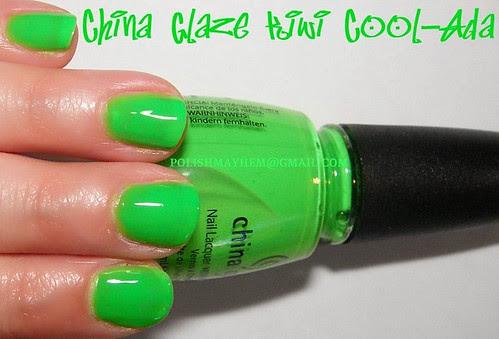 China Glaze Kiwi Cool-Ada