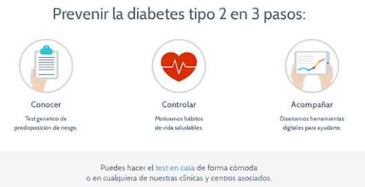 ¿Te imaginas un Test genético para diabetes?