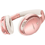 Bose QuietComfort 35 II Bluetooth Wireless Over-Ear Headphones with Mic and NFC - Noise-Canceling - Rose Gold