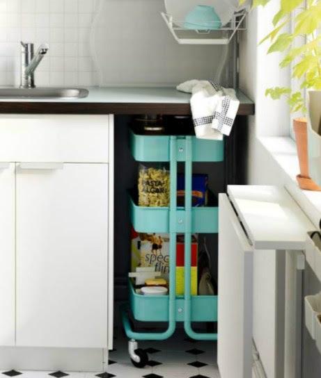 Το σπαστό τραπέζι είναι η τέλεια λύση αν δεν έχετε καθόλου άλλο ελεύθερο χώρο στην κουζίνα σας.