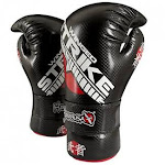 (X-Small, Black) - Hayabusa Winged Strike Competition Gloves