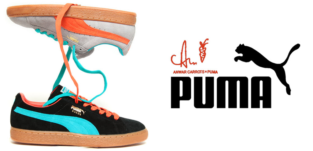 Puma Suede X Anwar Carrots City Blue