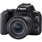 Canon EOS Rebel SL3/250 DSLR Camera with 18-55mm Lens (Black)