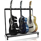 Best Choice Products 7-Guitar Folding Storage Stand Rack for Acoustic,