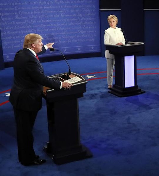 At Debate, Trump Says He May Reject Election Results | RealClearPolitics