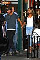 jennifer aniston justin theroux hold hands on date night 04