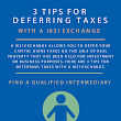 3 Tips for Deferring Taxes with a 1031 Exchange Infographic