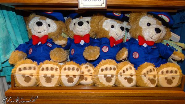 Disneyland Resort, Disney California Adventure, Buena Vista Street, Duffy, Red Car Trolley, Conductor